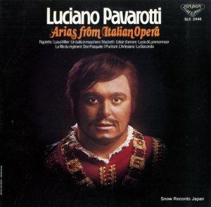 ルチアーノ・パヴァロッティ - 珠玉のオペラ・アリア第2集 - SLC2446
