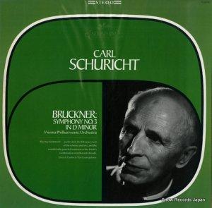 カール・シューリヒト - bruckner; symphony no.3 in d minor - S-60090