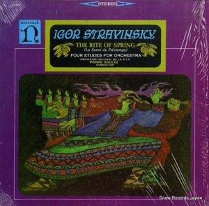 ピエール・ブレーズ - stravinsky; the rite of spring - H-71093