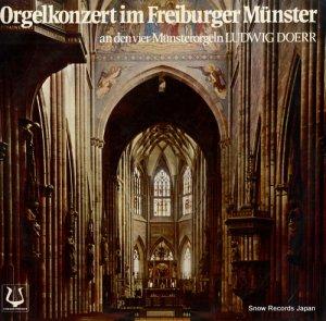 ルートヴィヒ・ドーア - orgelkonzert im freiburger munster - SCGLX73773