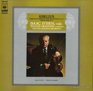 アイザック・スターン - シベリウス:ヴァイオリン協奏曲ニ短調作品47 - SONC10399