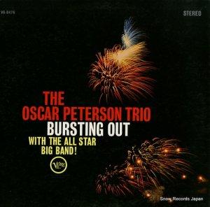 オスカー・ピーターソン - the oscar peterson trio bursting out with the all star big band! - V6-8476