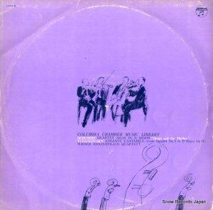 ウィーン・コンツェルトハウス四重奏団 - シューベルト:弦楽四重奏曲第14番ニ短調「死と乙女」 - CMS-8