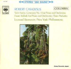 ロベール・カザドシュ - サン=サーンス:ピアノ協奏曲第4番作品44 - OS-246
