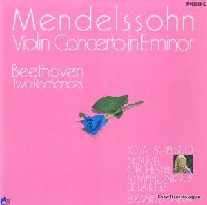 ローラ・ボベスコ - ボベスコのメンデルスゾーンヴァイオリン協奏曲 - 27PC-91
