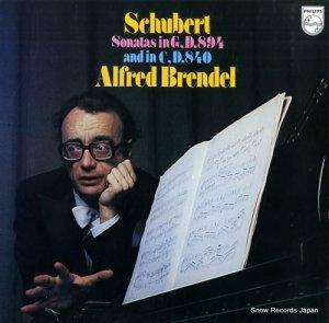 アルフレッド・ブレンデル - シューベルト:ピアノ・ソナタ第18番ト長調「幻想」、第15番ハ長調「レリーク」 - 18PC-88