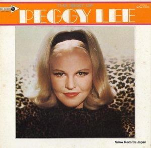 ペギー・リー - ジャニー・ギター/ペギー・リー・デラックス - MCA-7023