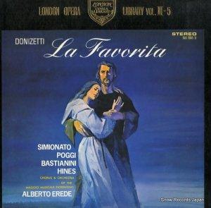 アルベルト・エレーデ - ドニゼッティ:歌劇「ファヴォリータ」全曲 - SLC7031/3