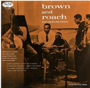 クリフォード・ブラウンとマックス・ローチ - brown and roach incorporated - EVER-1010(M)
