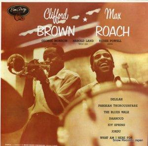 クリフォード・ブラウンとマックス・ローチ - clifford brown and max roach - EVER-1007(M)