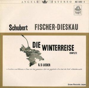 ディートリッヒ・フィッシャー=ディースカウ - シューベルト:歌曲集「冬の旅」全曲 - ASC-5293-4