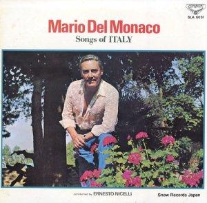 マリオ・デル・モナコ - イタリア民謡集 - SLA6031