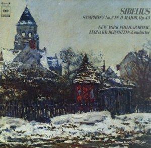 レナード・バーンスタイン - シベリウス:交響曲第2番ニ長調 - FCCA93