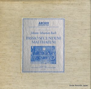 カール・リヒター - バッハ:マタイ伝による受難曲 - 198009/12