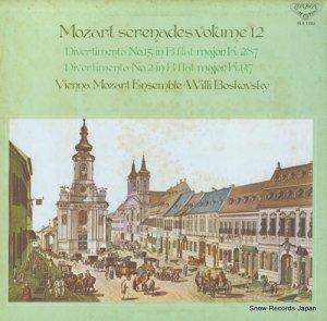 ウィリー・ボスコフスキー - モーツァルト・セレナード全集−第12集 - SLA1253