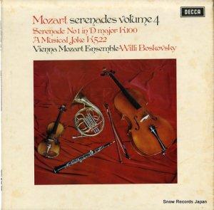 ウィリー・ボスコフスキー - mozart; serenades volume 4 - SXL6499