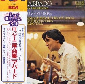 クラウディオ・アバド - ロッシーニ序曲集 - RX-2351