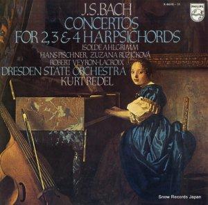 イゾルデ・アームグリム - バッハ:2台・3台・4台のハープシコードのための協奏曲(全曲) - X-8610-11