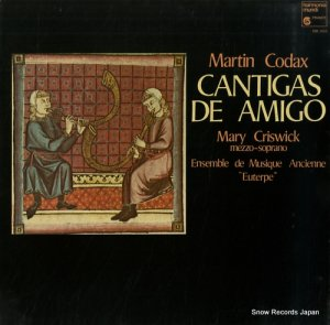 MARY CRISWICK - cantigas de amigo - HM1060