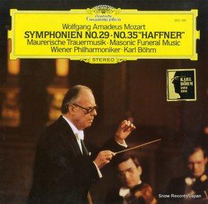 カール・ベーム - mozart; symphonien no.29, 35