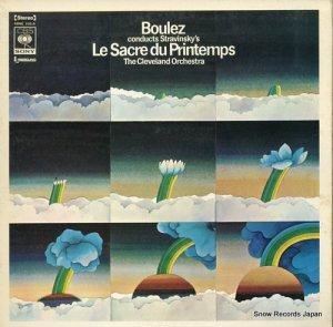 ピエール・ブーレーズ - ストラヴィンスキー:春の祭典 - SONC10215