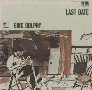 エリック・ドルフィー - ラスト・レコーディング - PAT-1051