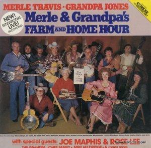 マール・トラヴィス&グランパ・ジョーンズ - farm and home hour - CMH-9032