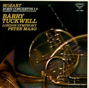 バリー・タックウェル - モーツァルト:ホルン協奏曲集 - SLC1856