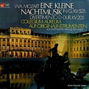 コレギウム・アウレウム合奏団 - モーツァルト:アイネ・クライネ・ナハトムジーク - ULX-3180-H
