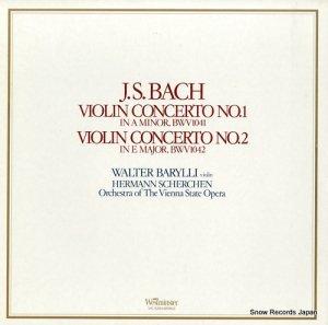 ワルター・バリリ - バッハ:ヴァイオリン協奏曲第1番/第2番 - VIC-5254