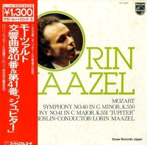 ロリン・マゼール - モーツァルト:交響曲第40番ト短調k.550 - PL-1348