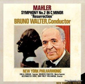 ブルーノ・ワルター - マーラー:交響曲第2番ハ短調「復活」 - 40AC1831-2