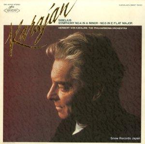 ヘルベルト・フォン・カラヤン - シベリウス:交響曲第4番イ短調作品63 - EAC-40020