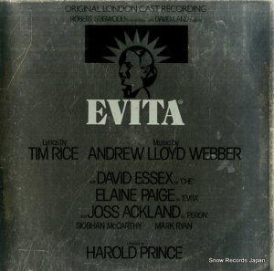 TIM RICE AND ANDREW LLOYD WEBBER - evita - MCG3527