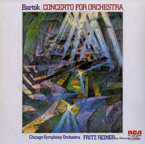フリッツ・ライナー - バルトーク:管弦楽団のための協奏曲 - RCL-1046