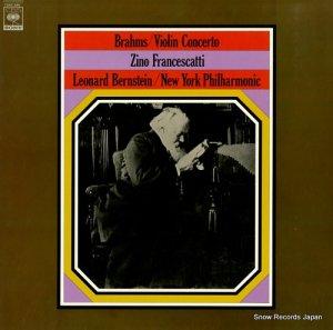 ジノ・フランチェスカッティ - ブラームス:ヴァイオリン協奏曲ニ長調作品77 - 13AC290