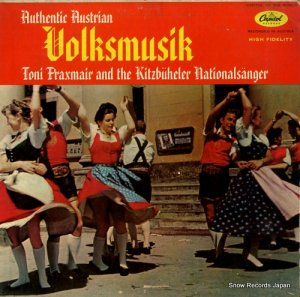 THE KITZBUHELER NATIONALSANGER - austiran folk music - T10154 (#92714)
