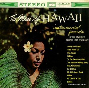 SOL KAMAHELE - the music of hawaii - MS-4006