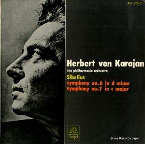 ヘルベルト・フォン・カラヤン - シベリウス:交響曲第6番ニ短調 - AB7047