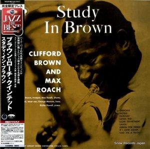 クリフォード・ブラウン・マックス・ローチ - スタディ・イン・ブラウン - UCJU-9011 / MG-36037