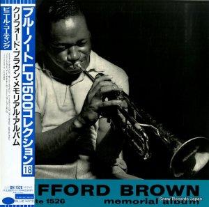 クリフォード・ブラウン - メモリアル・アルバム - BN1526