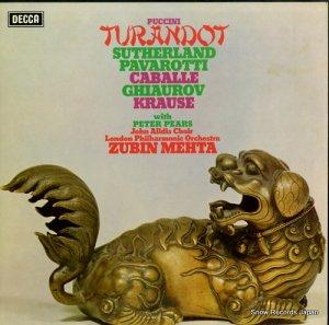 ズービン・メータ - puccini; turandot - SET561-3