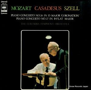 ジョージ・セル - モーツァルト:ピアノ協奏曲第26番「戴冠式」&27番 - SOCL19