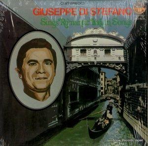 ジュゼッペ・ディ・ステファーノ - sings romantic italian songs - EVEREST3369