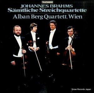ウィーン・アルバン・ベルク四重奏団 - ブラームス:弦楽四重奏曲=全曲 - SLE1138-9
