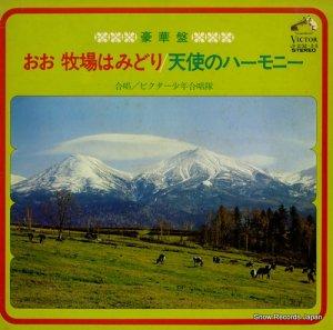 ビクター少年合唱隊 - おお牧場はみどり/天使のハーモニー - JV-2132-3-S