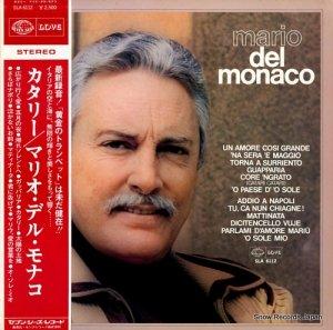 マリオ・デル・モナコ - カタリー - SLA6112