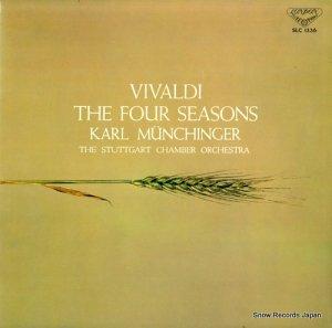 カール・ミュンヒンガー - ヴィヴァルディ:合奏協奏曲「四季」作品8の1・4 - SLC1336