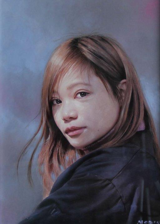 肖像画(森野 馨)