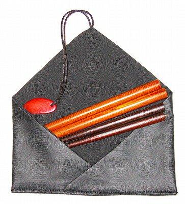 携帯マイ箸(圧密杉の箸)(名入れ刻印)